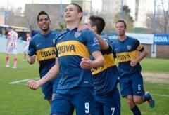 Nicolás benegas Boca