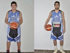 El Oberá Tenis Club confirmó la continuidad de Lisandro Gómez Quintero y Joaquín Deck en el equipo que representará al básquet misionero en el Torneo Nacional de Ascenso (Foto prensa OTC)