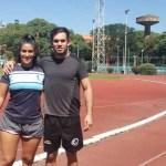 Francisco y Anahí Galeano, judocas de selección