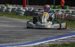 Grimaldi y Mairu Herrera corren en la Rotax Bue