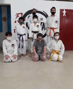 Karatecas misioneros al nacional Shotokan ISKF