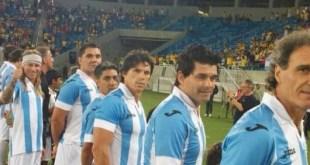Argentina venció a Brasil en fútbol