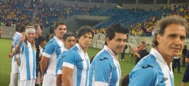 Argentina Brasil  amistoso en Abu Dhabi