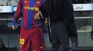 Messi salió para nada