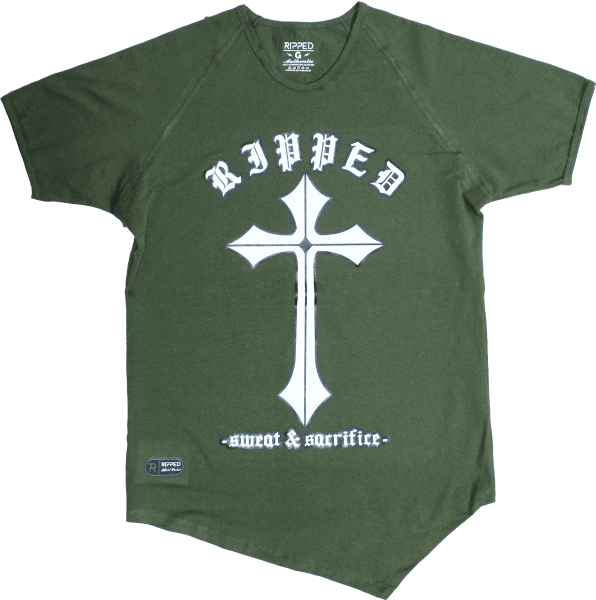cruz verde manga corta pico