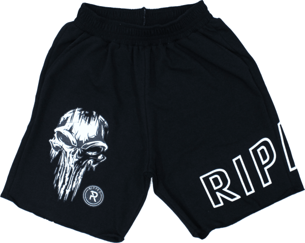 short ripped craneo alien negro frontal