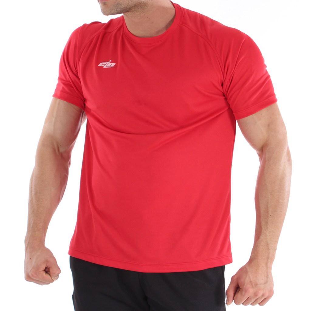 camisa basica roja