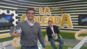 Invitado al programa La Goleada como psicólogo deportivo