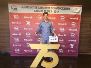 Martí Puig.3 clasificado campeonato Catalunya Enduradas