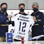 Facundo Waller, no dudó en fichar con Pumas
