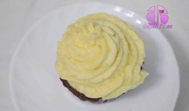 vanilla cream icing o crema de vainilla para decorar