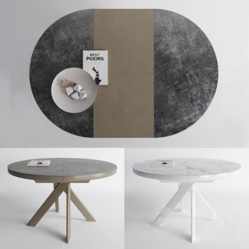 table ronde calligaris tivoli