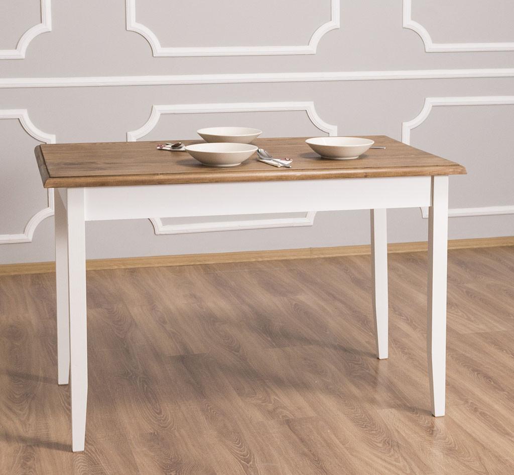 table de cuisine en bois massif 120x70x78
