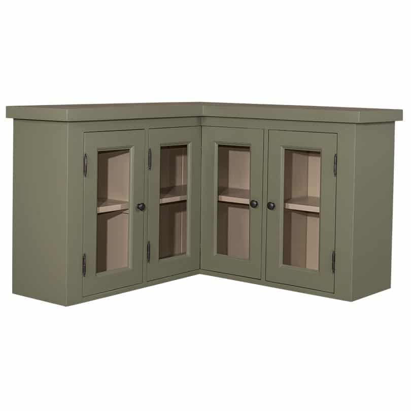 meuble d angle haut de cuisine romane 98 98 x31x65 cm