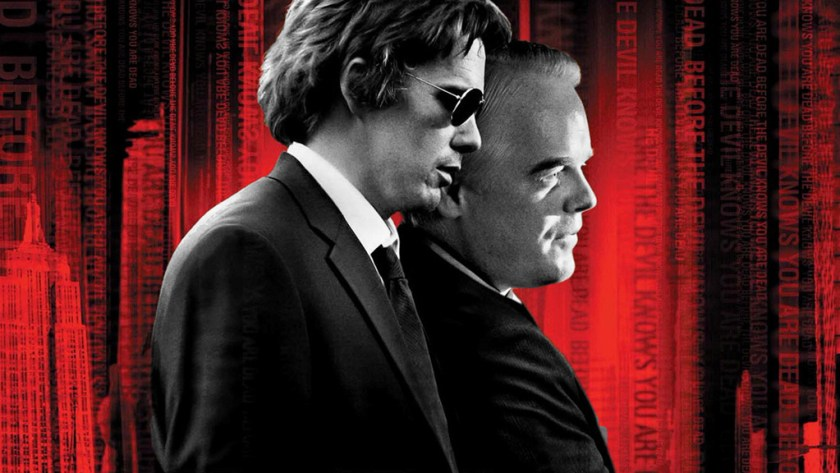 http://www.rottentomatoes.com/m/before_the_devil_knows_youre_dead/