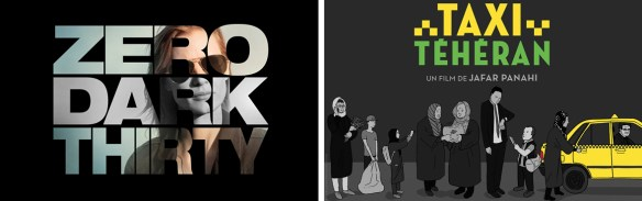 Onze TV TIPS: Zero Dark Thrirty en Taxi Teheran