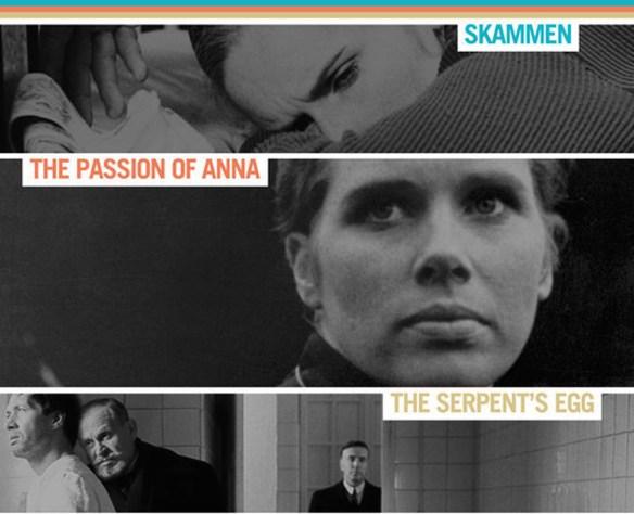 3 Films by Ingmar Bergman