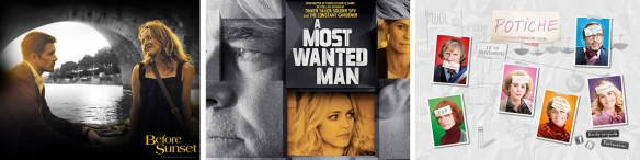 Before Sunset, A Most Wanted Man en Potiche