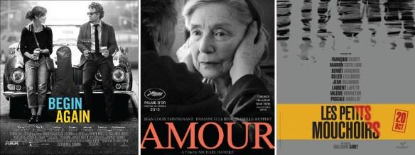 Begin Again, Amour en Les Petits Mouchoirs