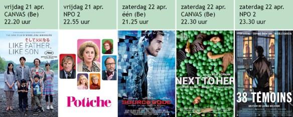films op TV