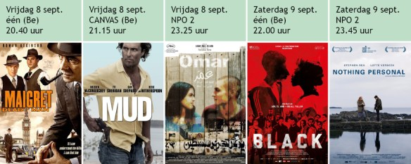 films op TV