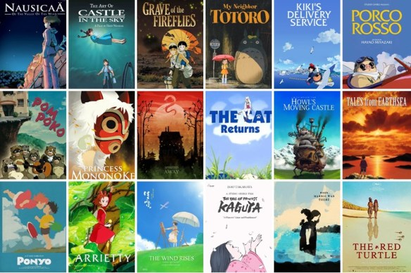 Studio Ghibli films