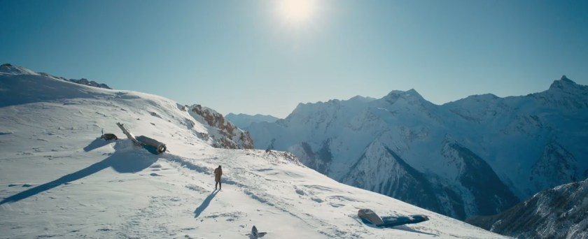 recensie The Mountain Between Us