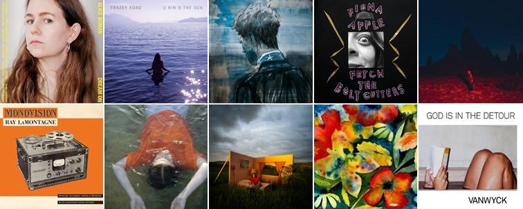 tien beste albums van 2020