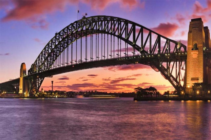 sydney-harbour-bridge-famous-bridge