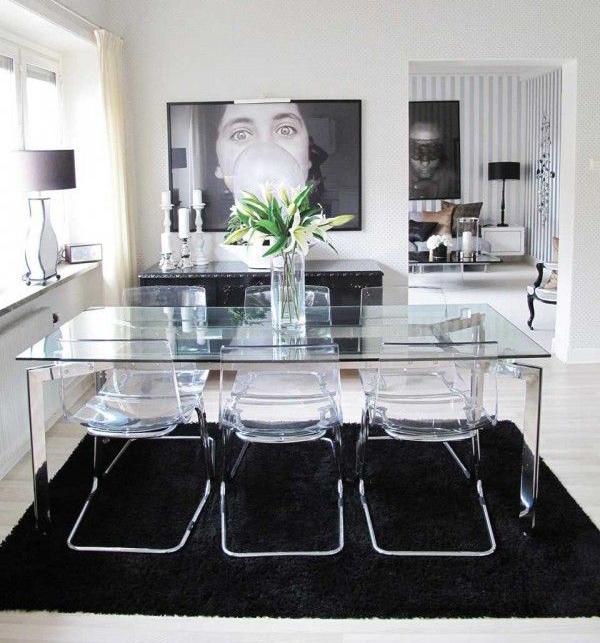 Mesas de vidrio ventajas y desventajas depto51 blog - Mesas de comedor modernas de cristal ...