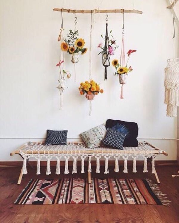 5 ideas para decorar con macramé