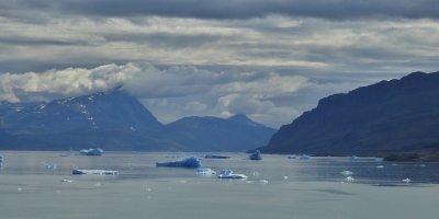 Icebergs en el Tunulliarfik