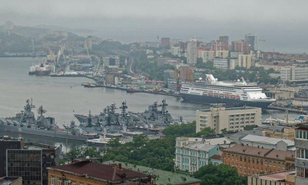 En el puerto de Vladivostok