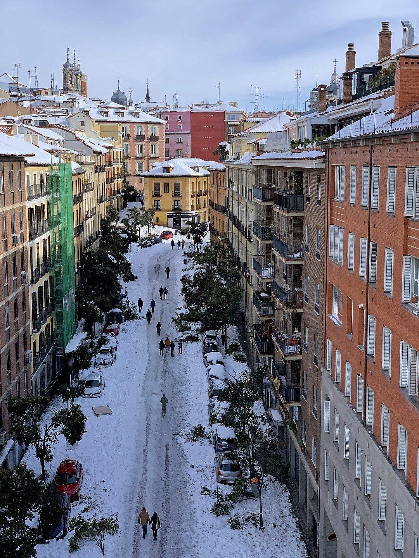 Calle de Segovia, hacia el este