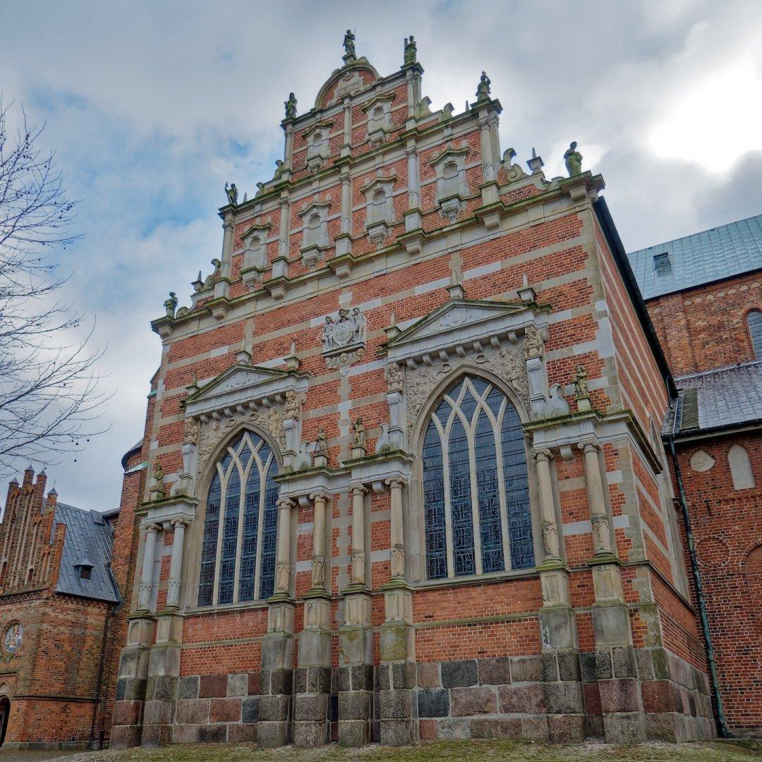 Exterior de la capilla de Cristián IV