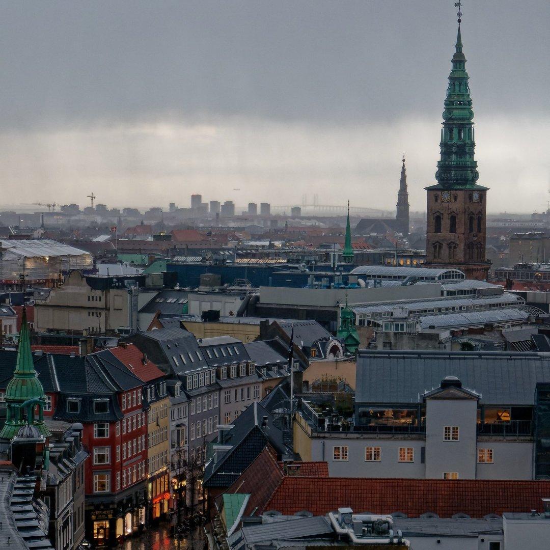 Copenhague desde Rundetårn