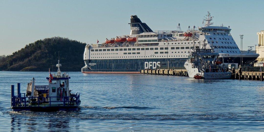El Crown Seaways en Bjørvika