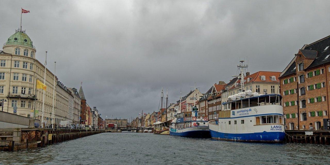 Un paseo en barco por Copenhague
