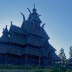 La iglesia de madera de Gol