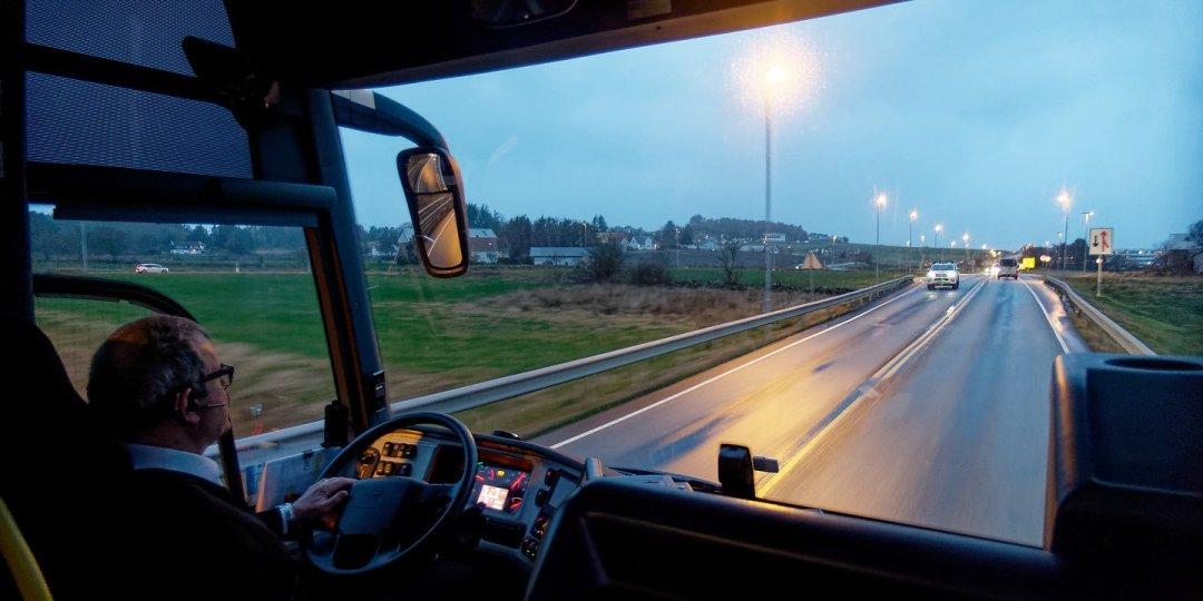 Al norte de Stavanger en la E39
