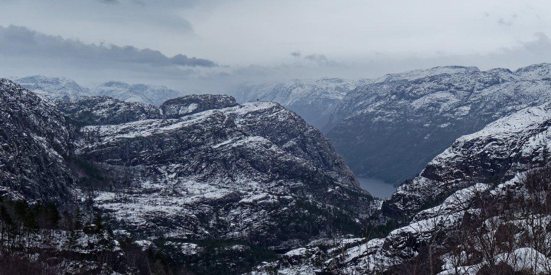 Entreviendo el Lysefjord