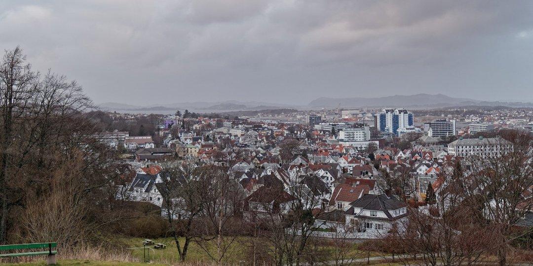 Stavanger desde Vålandstårnet
