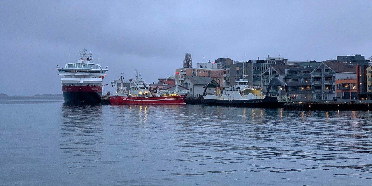 De Ålesund a Trondheim