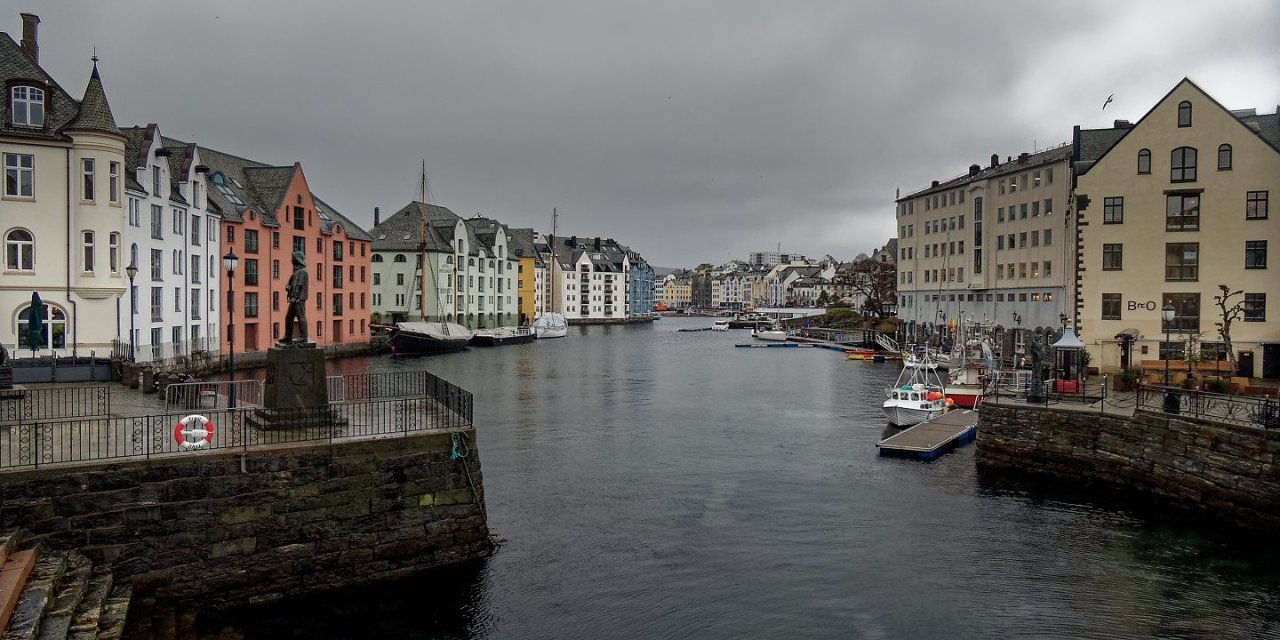 Escala en Ålesund
