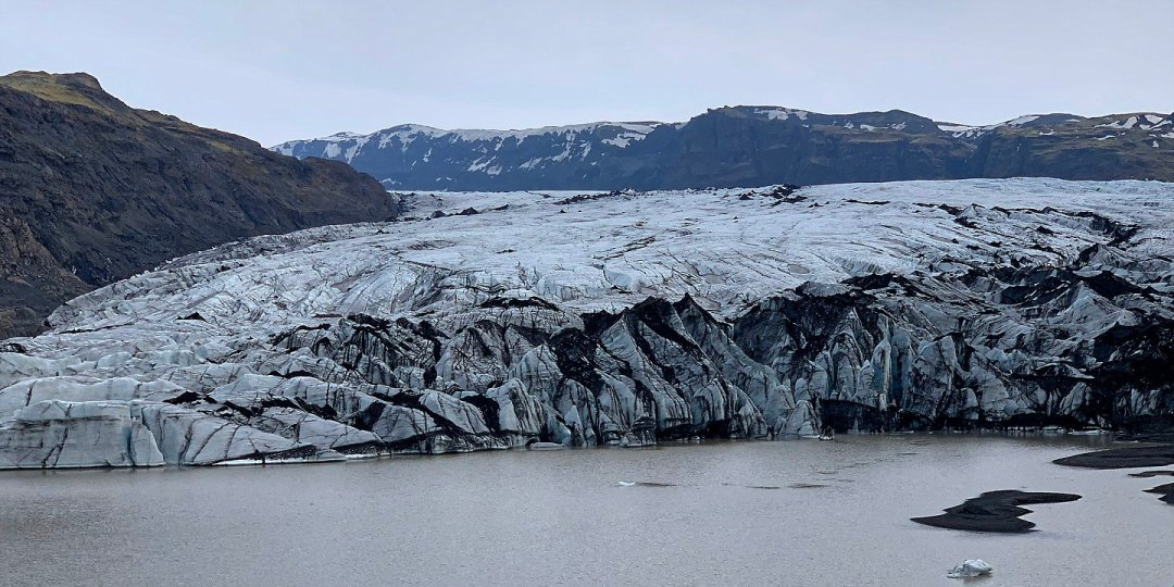 En el Sólheimajökull