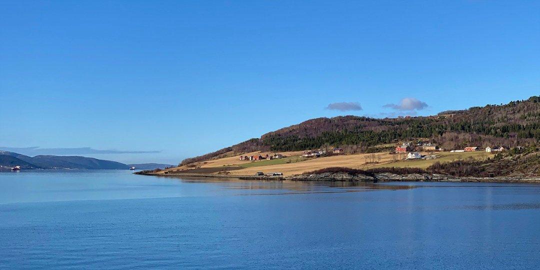 En el Trondheimsfjorden