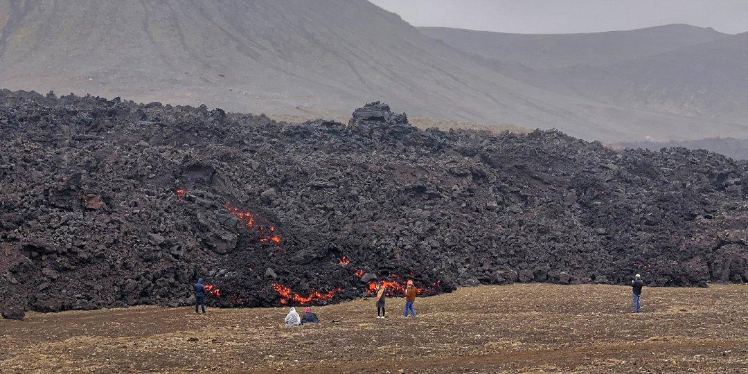 Observando la lava