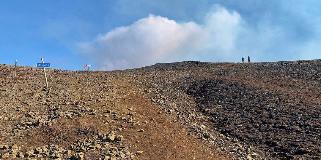 Camino al volcán