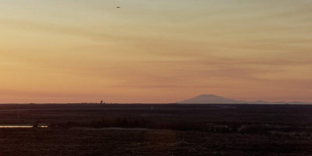 El Snæfell desde Keflavik