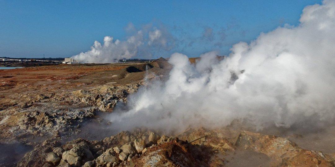Gunnuhver y planta geotermal